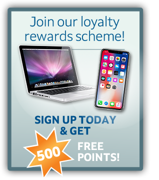 Join our loyalty rewards scheme!